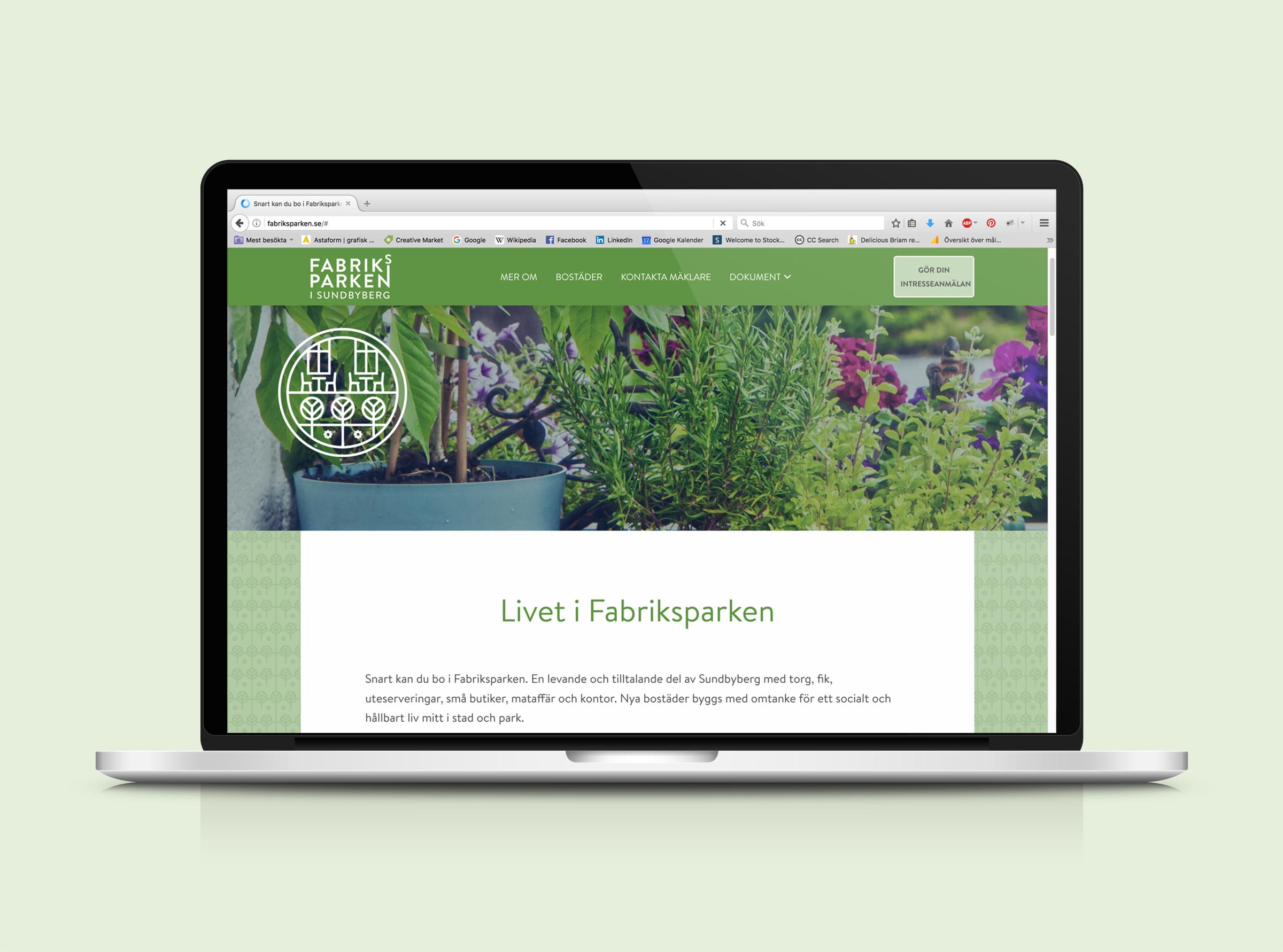 webbdesign hemsida logotyp varumärke kommun område grafisk profil identitet designbyrå reklambyrå stockholm grafisk formgivning design