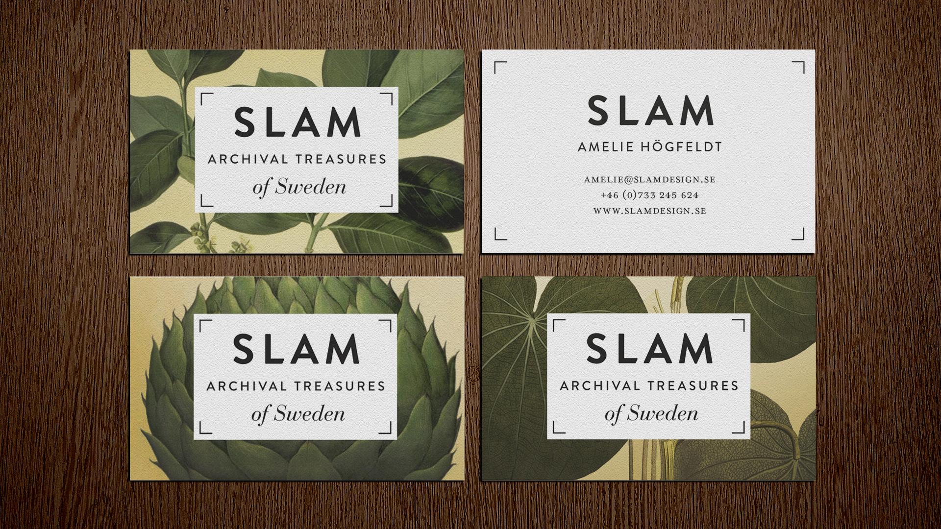 logotyp grafisk profil identitet visitkort designbyrå stockholm